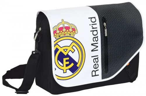 Bandolera portaordenador del Real Madrid