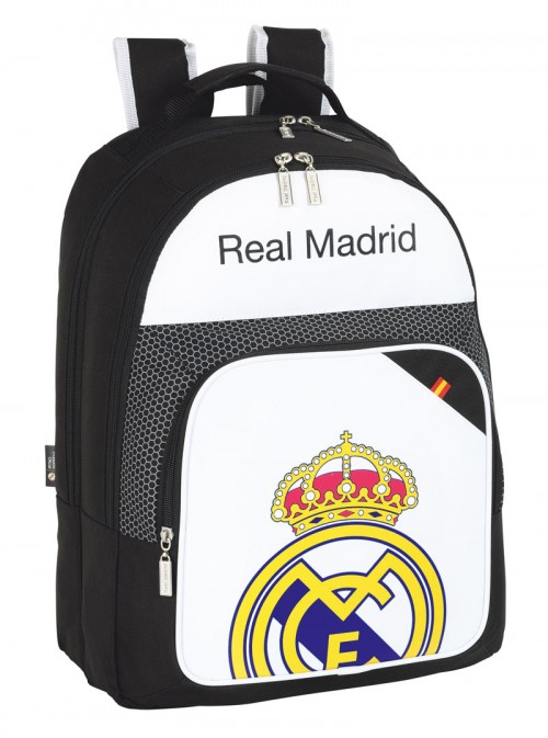 Mochila escolar doble del Real Madrid