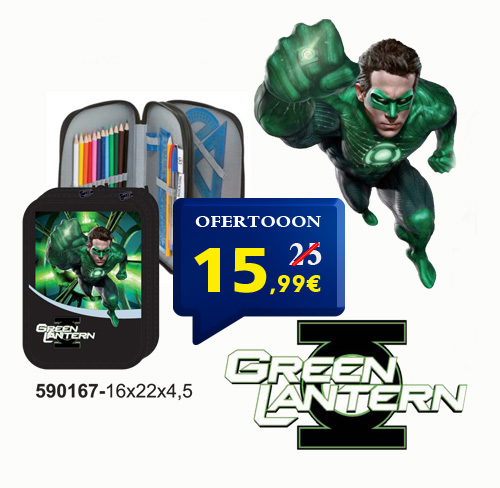 Estuche doble Green Lantern