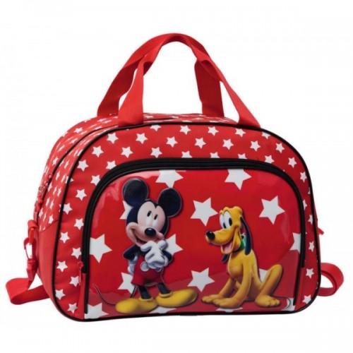 bolsa de viaje Mickey & Pluto Stars 20632