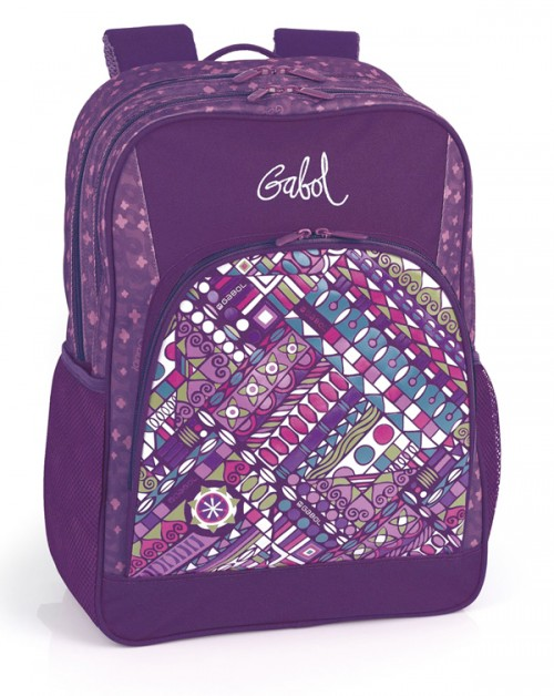 mochila doble gabol adaptable 215700