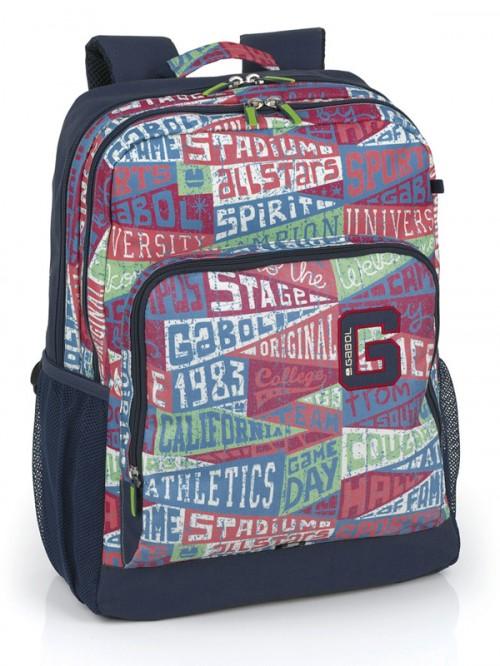 mochila gabol doble compartimento 216700