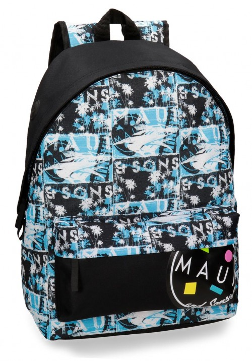 3252361 mochila 42 cm adaptable  maui shark