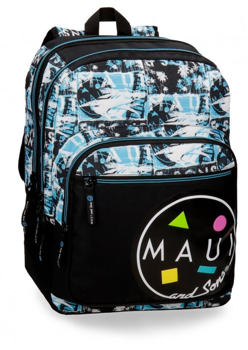 3252461 mochila doble compartimento adaptable maui shark