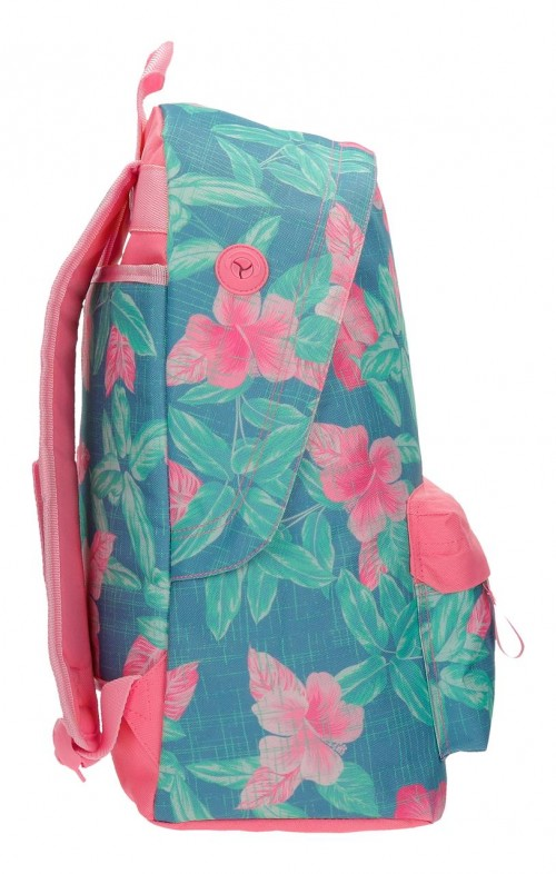 3552361 mochila 42 cm adaptable maui tropical state lateral