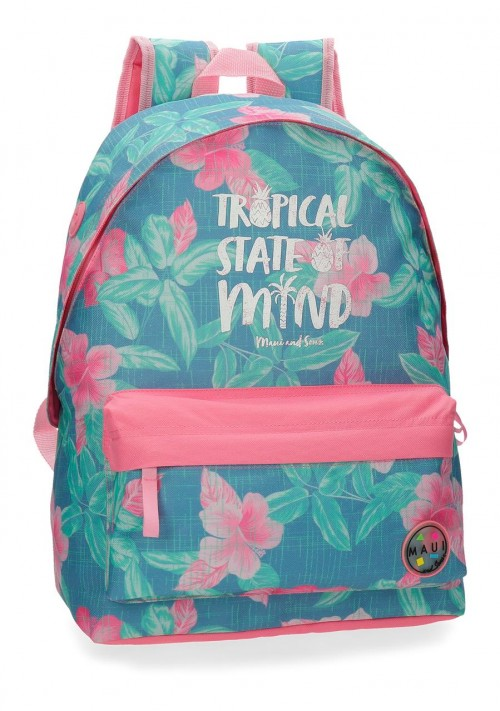 3552361 mochila 42 cm adaptable maui tropical state