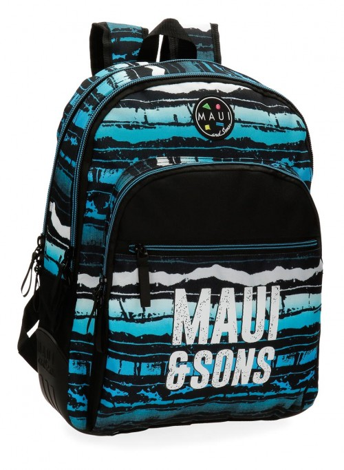3562661 mochila 44 cm doble maui waves