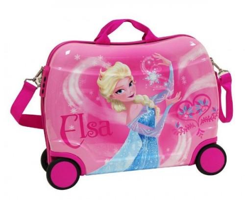 Maleta Infantil 4 ruedas Elsa 4259951