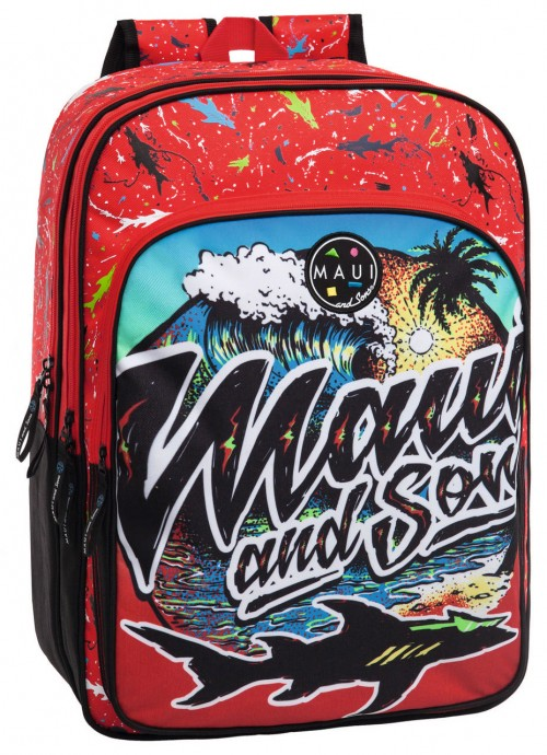 45525A1 Mochila Maui Beach Doble Compartimento Adaptable a Carro