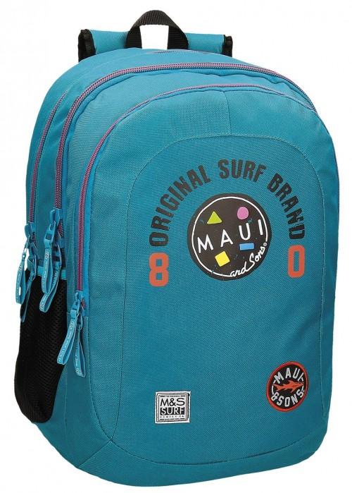 Mochila Maui Doble Azul 50924B3
