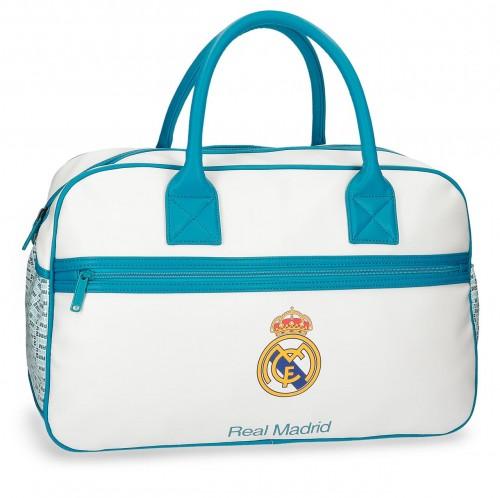 5373561 bolsa de viaje real madrid leyenda  turquesa