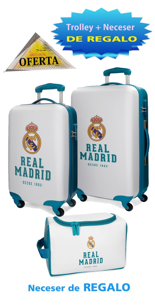 5381661 set trolley cabina y mediano real madrid gol azul