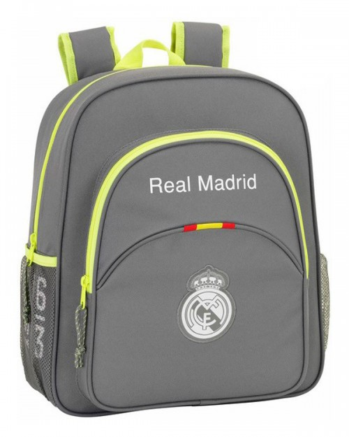 611554640 Mochila adaptable Real Madrid Gris Junior