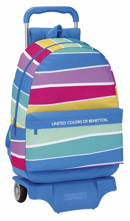 Mochila Carro Benetton Stripes 611735160