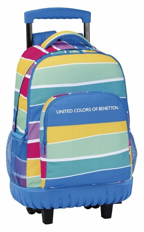 Mochila Compacta Benetton Stripes 611735818
