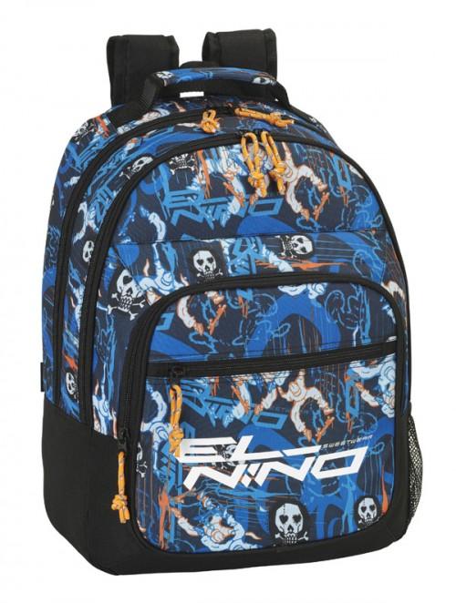mochila del niño doble compartimento 621507560