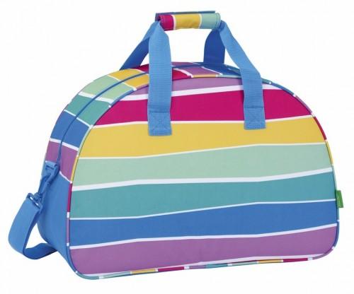 Bolsa de Viaje Benetton Stripes 711735219  trasera