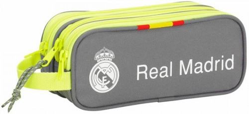 811554635 Estuche Real Madrid Gris triple