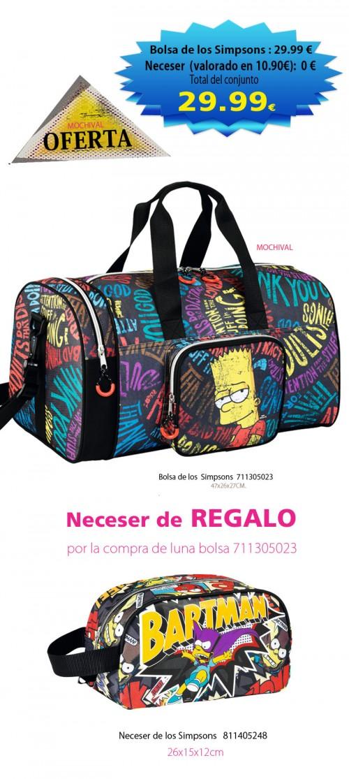 Bolsa de los  Simpsons  711305023