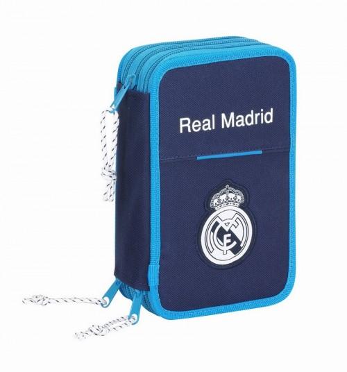 Maletín dibujo triple Real Madrid 411657057 41 piezas