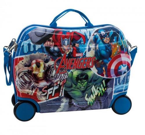Maleta Infantil Avengers Streeet 2439951 4 Ruedas