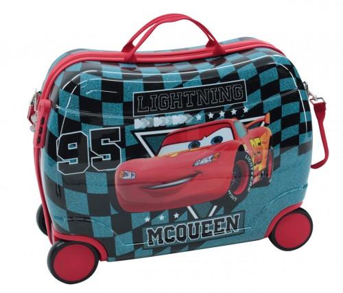 Maleta Infantil Cars Glitter 2449951 4 ruedas