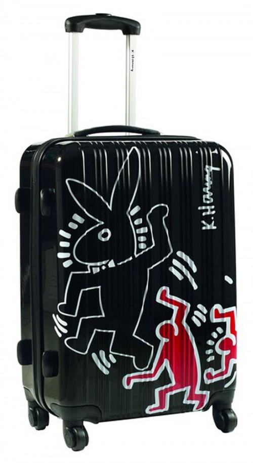 Maleta Grande Keith Haring 29100 Negra