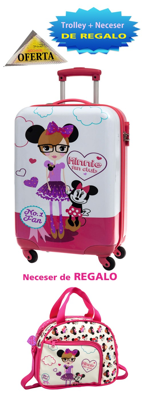 Maleta Mediana  Minnie 2091551M