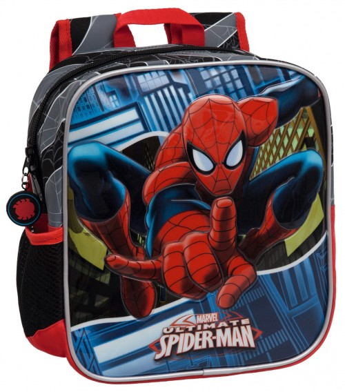 Mochila Guardería Spiderman 24520A1 Adaptable a carro