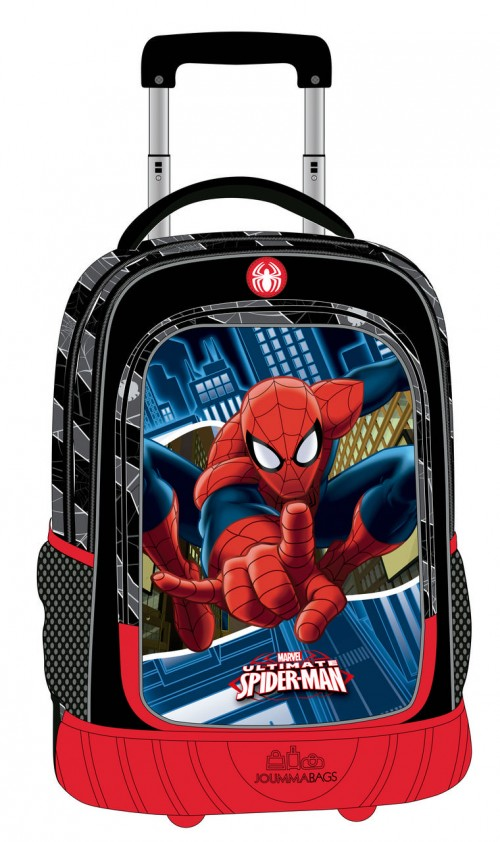 Mochila Trolley Compacta Spiderman 2452951
