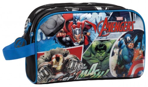 Neceser Avengers Streeet 2434451M  Adaptable con 2 Compartimentos