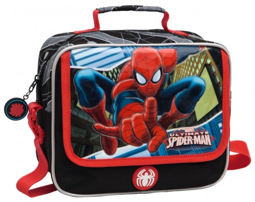 Neceser Spiderman 2454851m  Adaptable y Bandolera