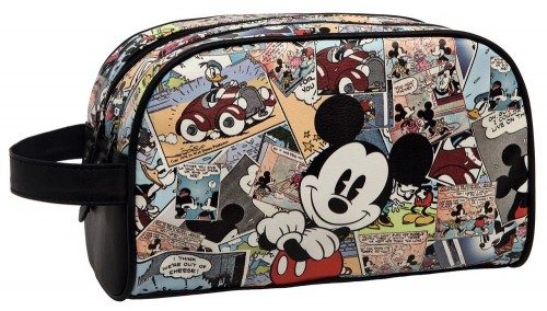 Neceser doble Compartimento Mickey Comic 3234451