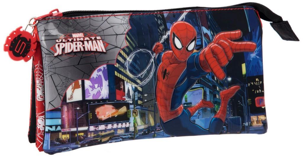 Portatodo triple Spiderman 2134351