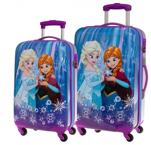 Set 2 Trolleys Frozen Keep Calm 2511651 Cabina y Mediano