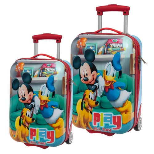 Set 2 Trolleys Mickey Play 4521351