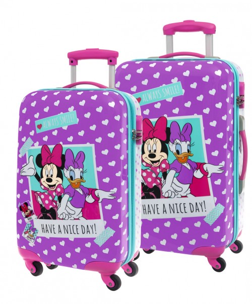 Set 2 Trolleys Minnie DAisy 2491651 Cabina y Mediano