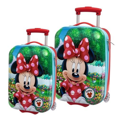 Set 2 Trolleys Minnie Garden 4421351