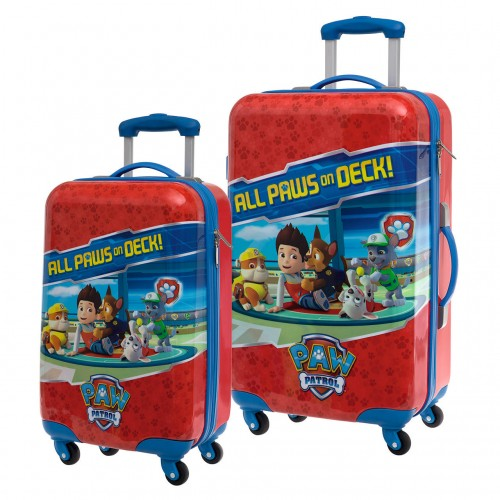 Set 2 Trolleys Patrulla Canina On Deck 4621651 Cabina y Mediano