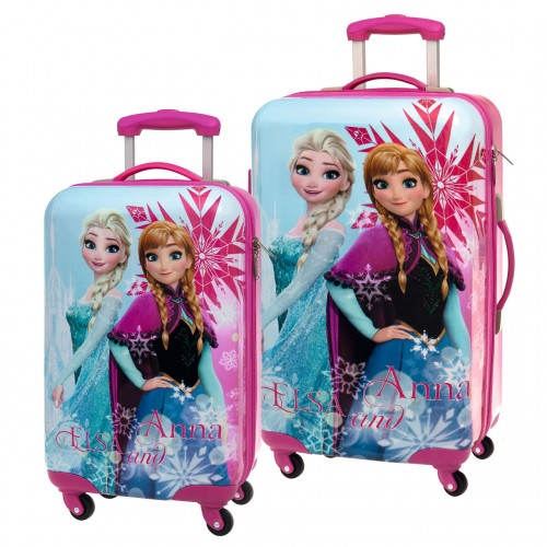 Set 2 trolleys Frozen Ice 4591651 Cabina y Mediano