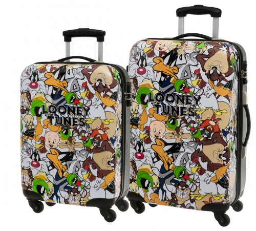 Set 2 trolleys Looney Tunes  3261951 Cabina y Mediano