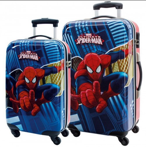 Set 2 trolleys Spiderman 2451651 Cabina y Mediano.