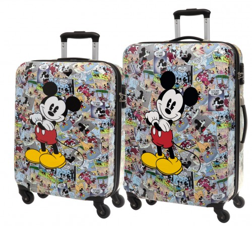 Set trolley Cabina y Mediano Mickey Comic 3237251