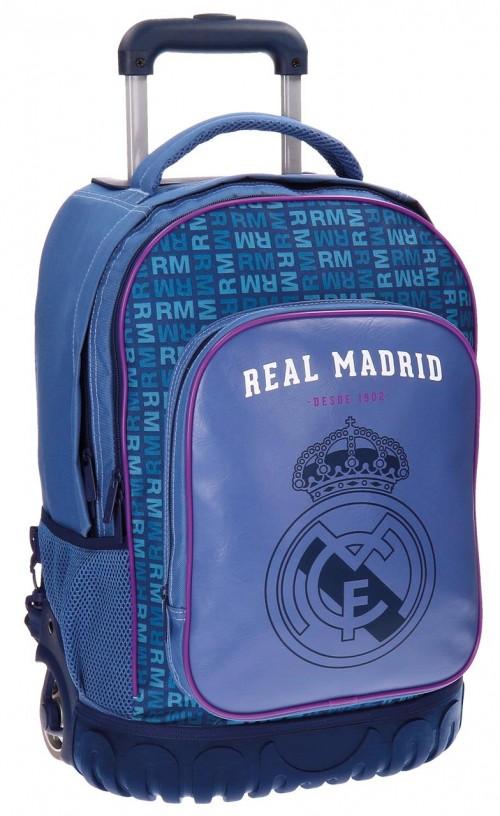 Mochila Reforzada 2 Ruedas  Champions Real Madrid 5632951