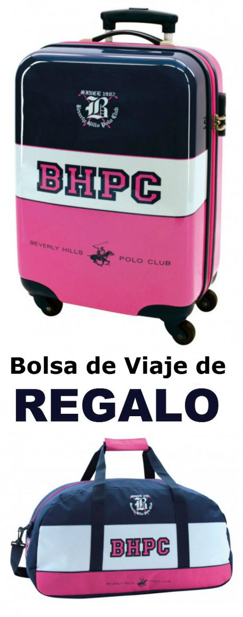 Trolley de Cabina Polo Club Girl 4 ruedas  52891511