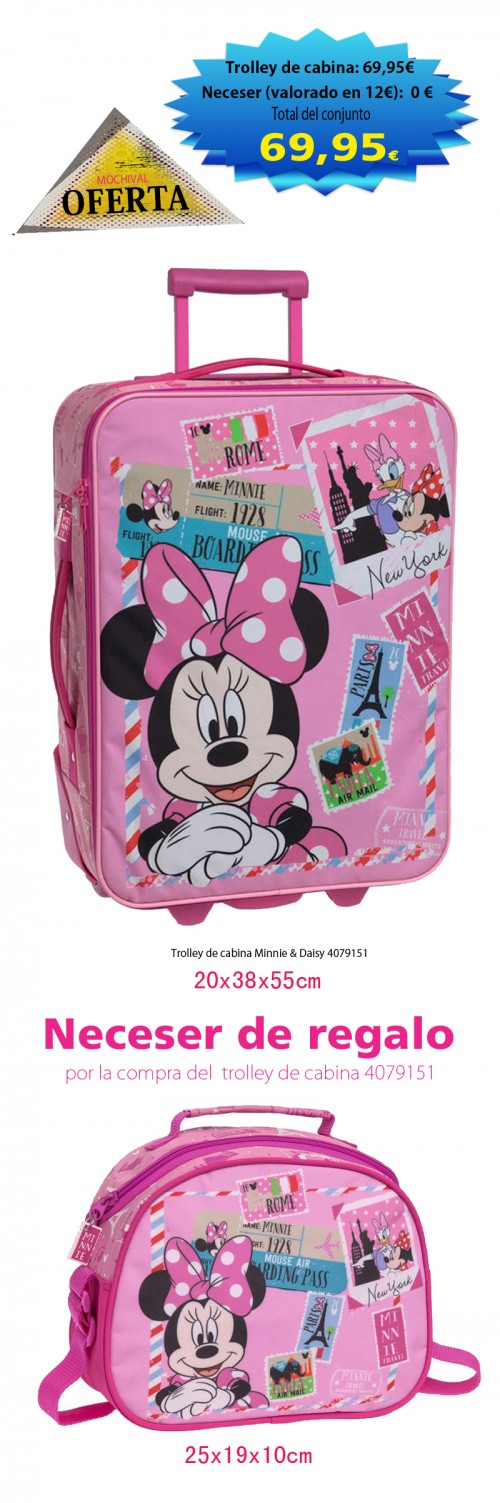 Trolley de cabina Minnie & Daisy 4079151