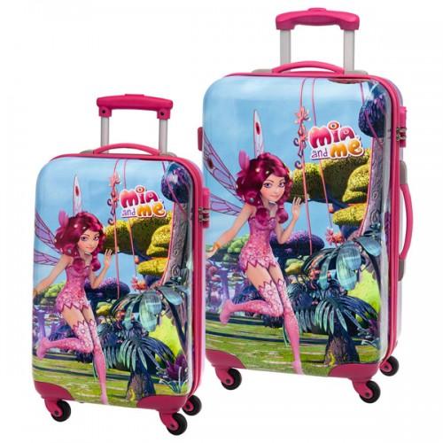 juego 2 maletas mia and me 2161651