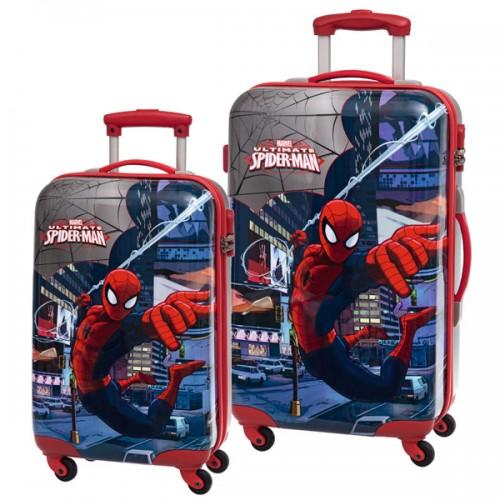 juego 2 maletas spiderman