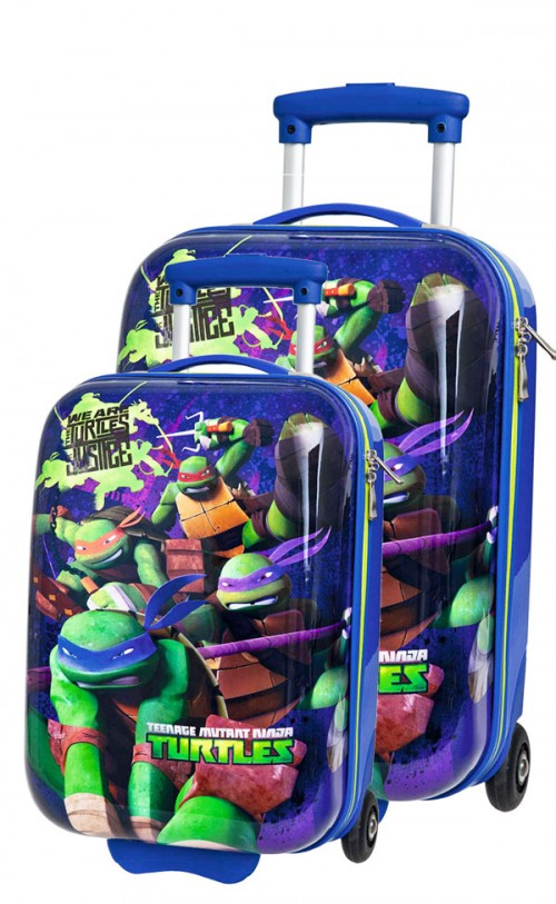 juego maletas tortugas ninja 1830501-601
