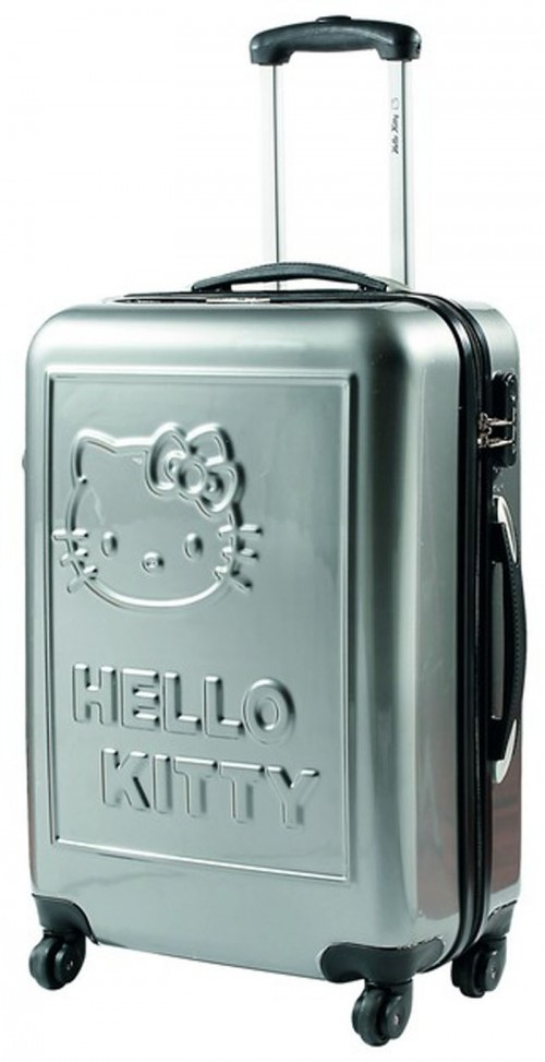maleta Hello Kitty 85100 plata grande